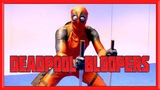 DEADPOOL Gag Reel & Bloopers | Deadpool Training BTS