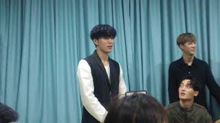 171029 VAV Ziu & Jacob - Personal talent @ Q&A Session