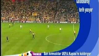 Galatasaray- Arsenal UEFA Kupası Final Maçı özet.