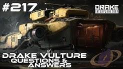 Star Citizen #217 Drake Vulture - Questions & Answers [Deutsch]