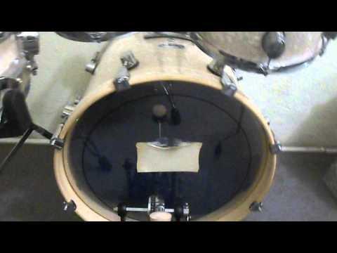 Bateria PRIME Jazz -Semi Nova - Compre ou estude na ABC Musical