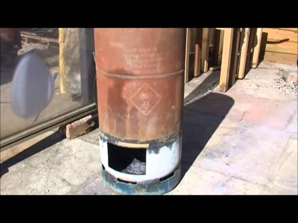 how to build a wood stove firewall