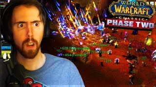 Asmongold BURNS THE SERVER With PHASE 2 World PVP & World Boss Hunting - Classic WoW