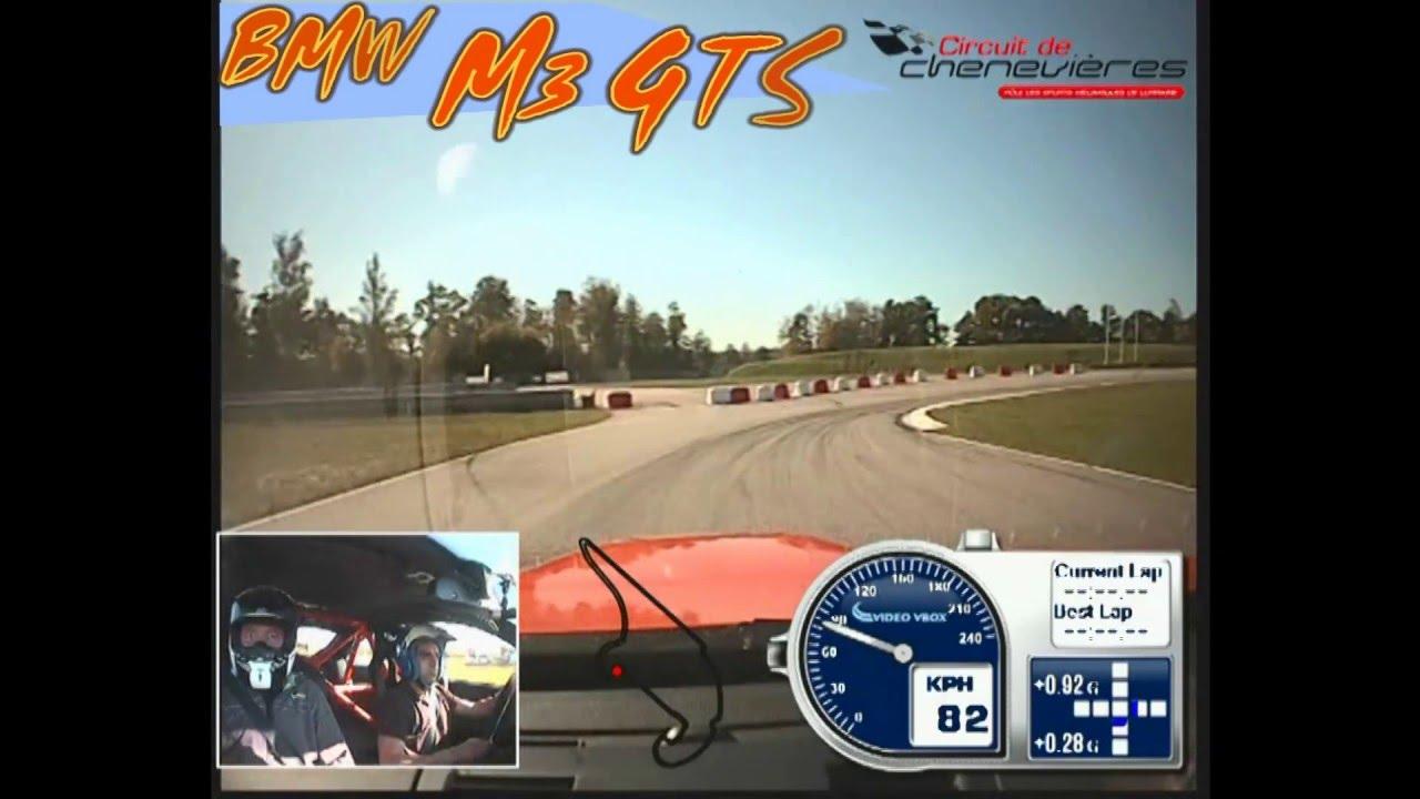 tour de démo en bmw m3 au circuit de chenevières - youtube