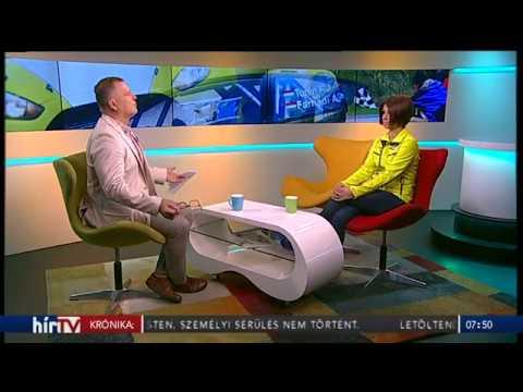 Farnadi Ágnes a HirTV Horti 7:40 műsorában, 20170526.