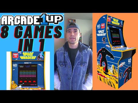 ARCADE1UP SPACE INVADERS 8 IN 1 CABINET from Brick Rod