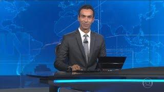 HD | Estreia de César Tralli no Jornal Nacional - 27/01/2018