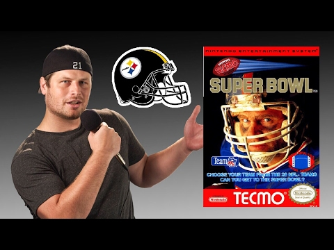 Tecmo Super Bowl - NES - Pittsburgh Steelers - Tecmo Madison XIII Traning