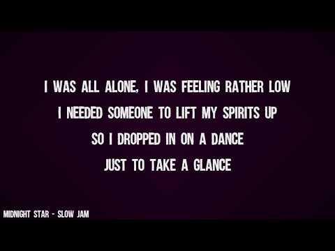 Midnight Star - Slow Jam (Lyrics Video)