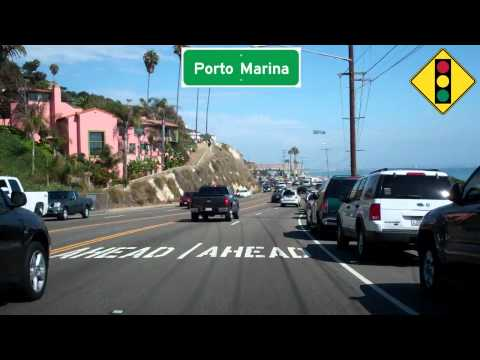 CA 1 South, Pacific Coast Highway, Malibu East to Santa Monica