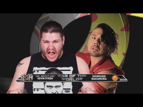 War of the Worlds 2014: Kevin Steen vs Shinsuke Nakamura