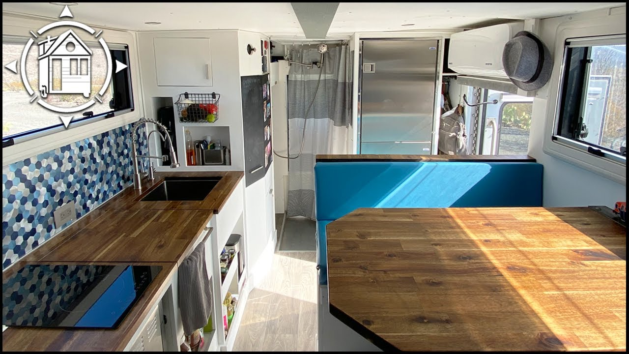 4X4 Ambulance is their DIY Tiny House ($59k Total Cost)!!