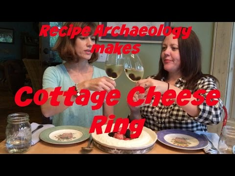 Cottage Cheese Ring - Recipe Archaeology