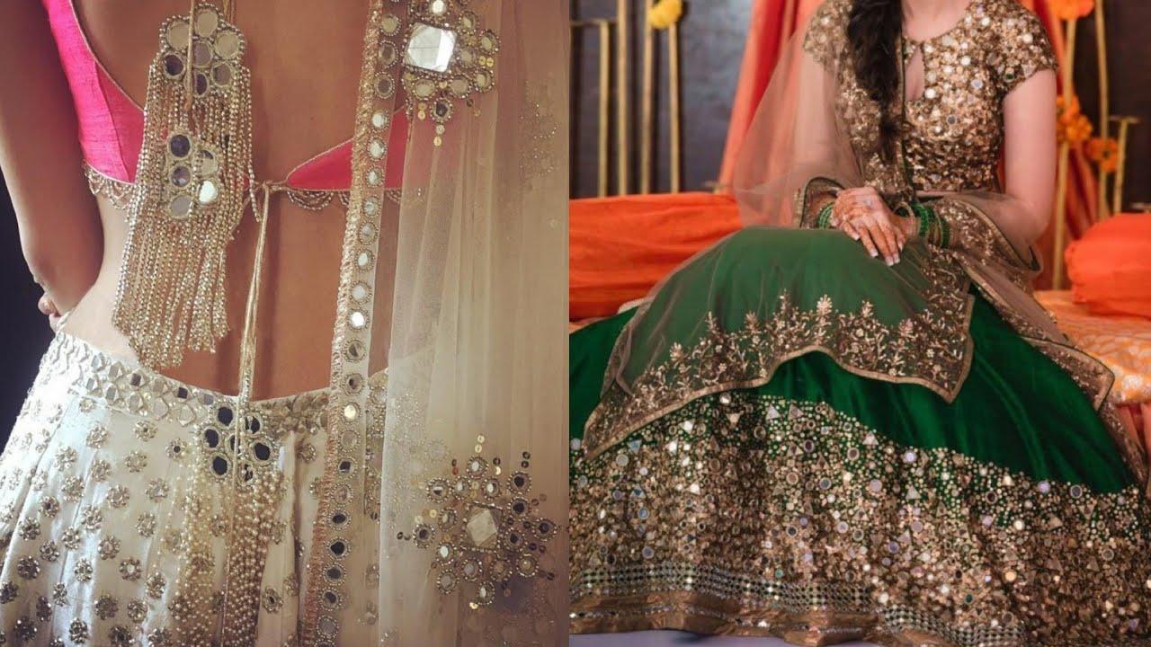 Dupatta Designs Mirror Work