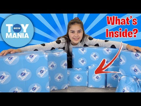 Surprise Toys From BIG W TOY MANIA | Grace's Room