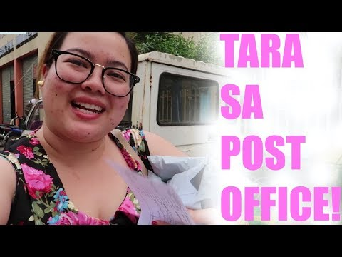 TARA SA POST OFFICE + OPENING PACKAGES! + MAY PCOS NGA BA AK