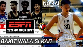 Bakit hindi kasama si Kai Sotto sa inilabas na 2021 NBA MOCK DRAFT ng ESPN?