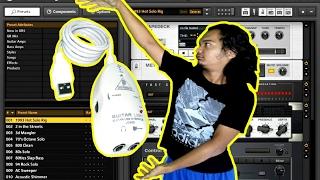 CARA MENGATASI NOISE PADA GUITAR RIG ATAU USB GUITAR LINK