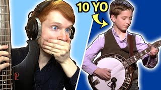 Can I Play The Fastest BANJO Solos On BASS