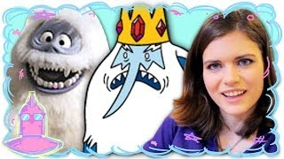 How To Draw Ice King from Adventure Time and Bumble - Random Girl Draws (Ep. 7)