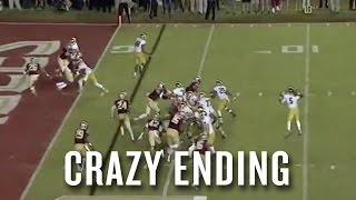 Watch the controversial call that led to Florida State