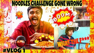 World's Spiciest Noodles | Noodles Challenge Gone Wrong | Hari Baskar | Ft.Irfan's View