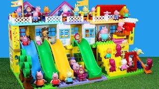 Peppa Pig Blocks Mega House Construction Sets Creative Toys For Kids #8