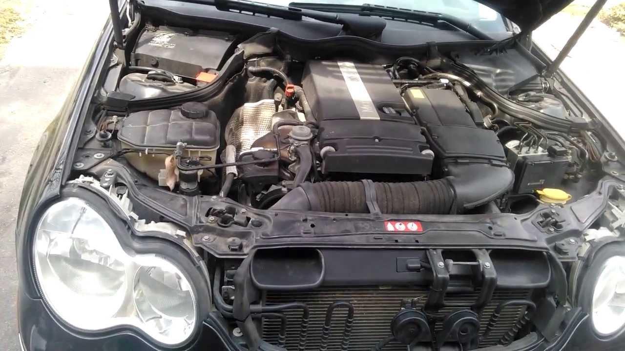 medium resolution of 2005 mercede c230 engine