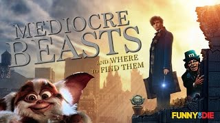 Mediocre Beasts and Where To Find Them (Fantastic Beasts Parody)