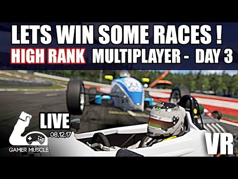 LETS WIN SOME RACES !  - DAY 03 - PROJECT CARS 2 - VR - OCULUS RIFT
