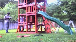 How To Build A Highlander  Wooden Swing Set