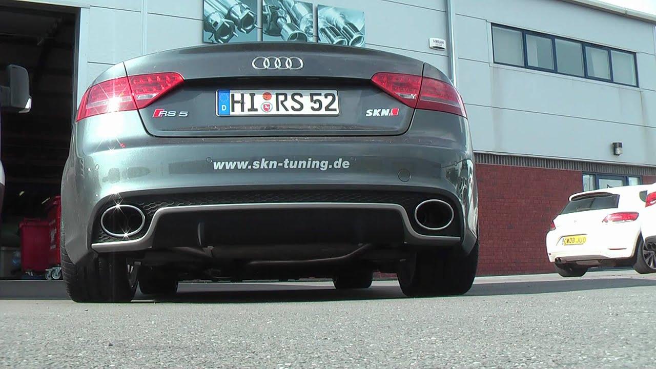 Audi Rs5 With Milltek Sport Exhaust