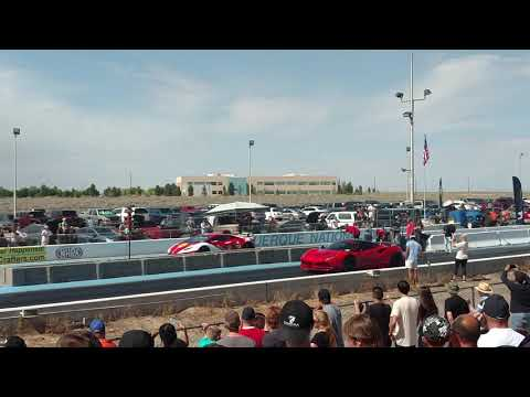 Farrari Face Off. Goldrush Rally Albuquerque NM 2018 - VOTD