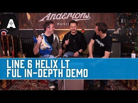 Line6 Helix LT - Full Depth Demo