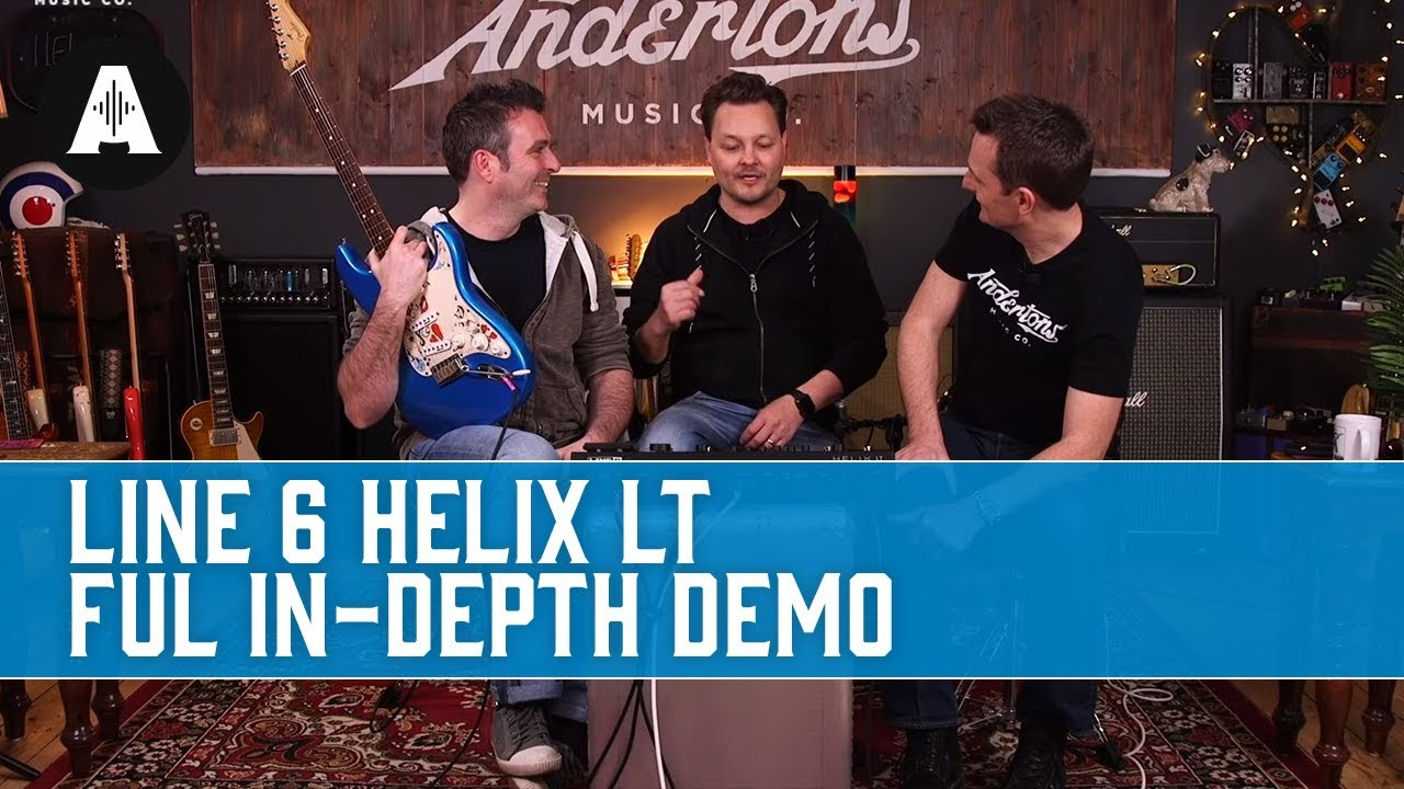 Line 6 Helix vs Helix LT vs HX Multi-Effects & HX Stomp