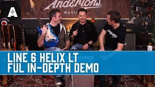 Line 6 Helix LT - Full In-Depth Demo