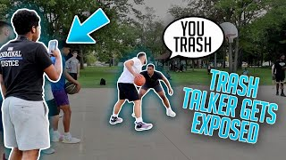 Sideline Trash Talkers Got EXPOSED! (Mic'd Up At The Park)
