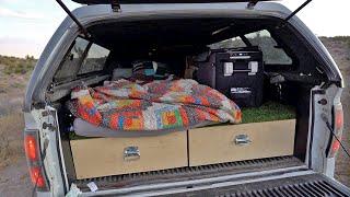 Living in my Truck: My F-150 Truck Camping Setup Update