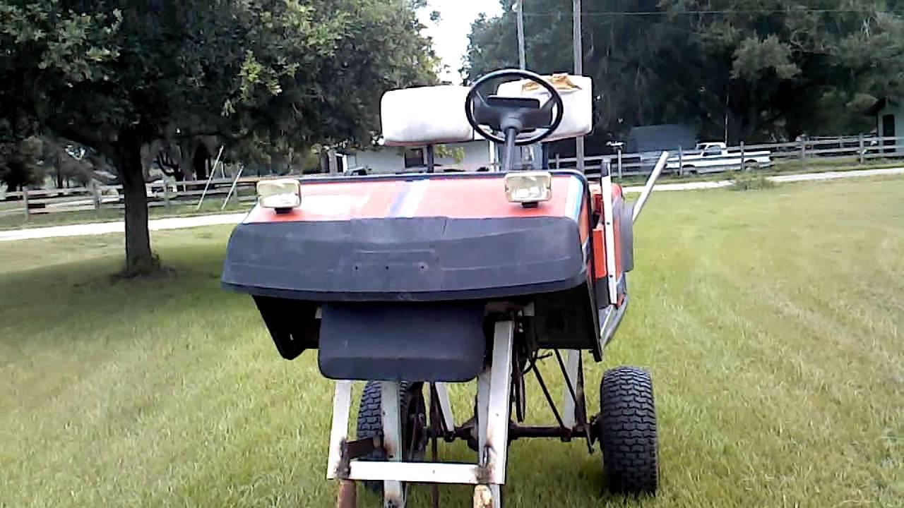 Huge Lifted Golf Cart 1 Youtube