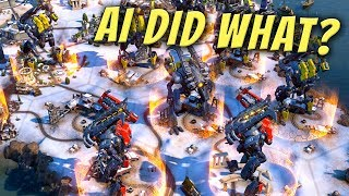 I Gave AI a Snow Only Map and it Built a Giant Robot Army