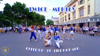 [KPOP IN PUBLIC CHALLENGE] Medley TWICE's Songs Dance Cover by W-Unit
