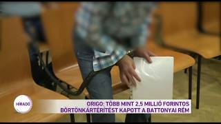 Origo: Több mint 2,5 millió forintos kártérítést kapott a battonyai rém