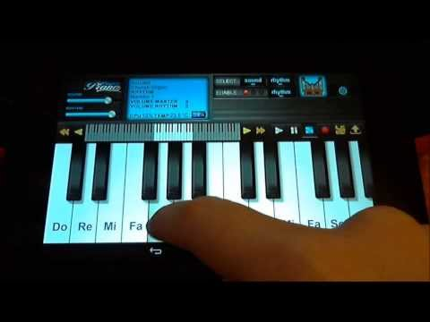 Superpiano for android 2014 version.