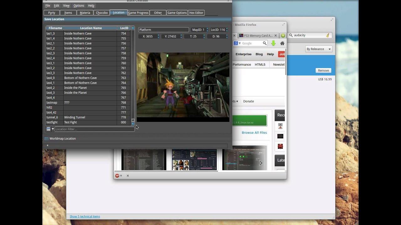 Editors - Final Fantasy VII Downloads - Caves of Narshe