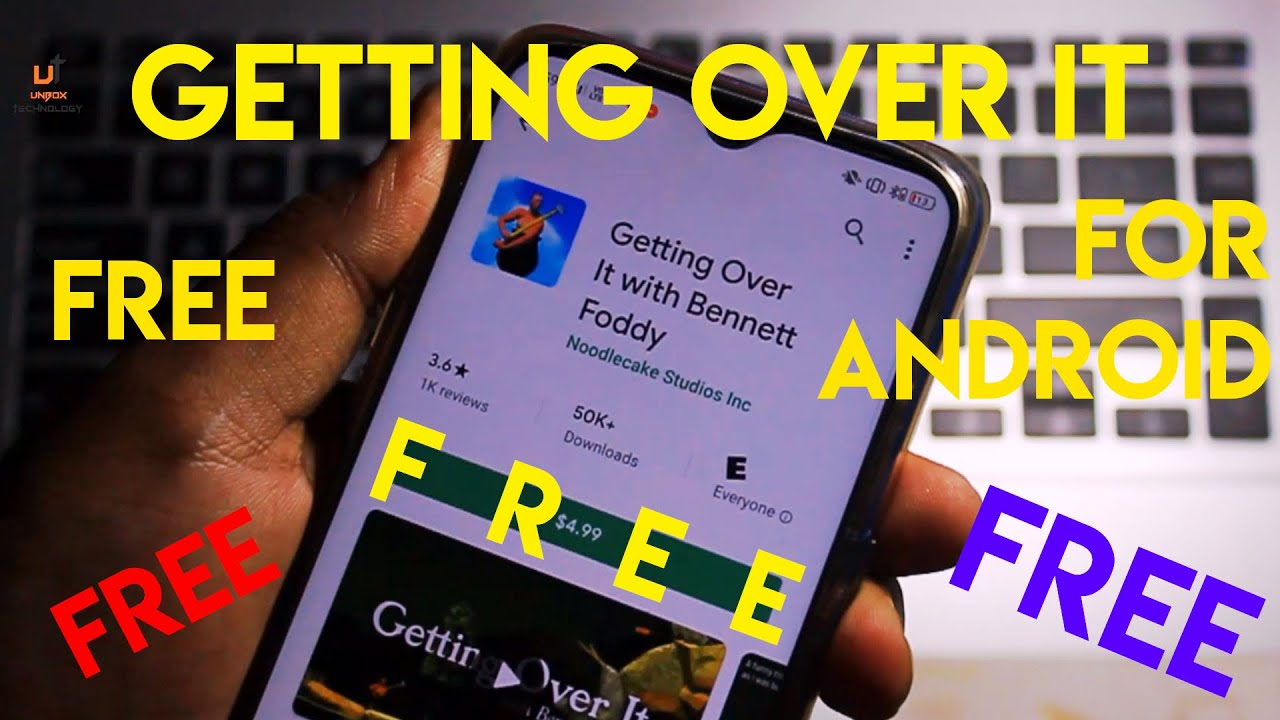 How To Download Getting Over It FREE For ANDROID   Getting Over It Free On Android