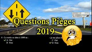 🔥 Nouvelles questions - permis de conduire 2019 - code rousseau Série 1