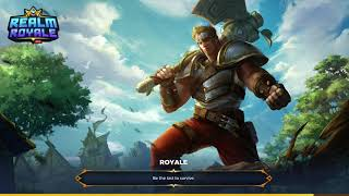 Realm Royale (Fortnite with classes)
