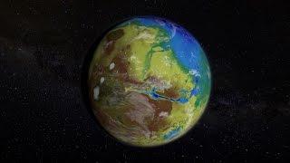 Cómo era el planeta Marte con agua líquida en superficie