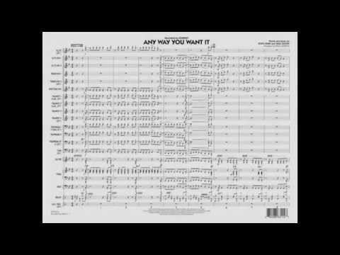 Any Way You Want It arranged by Paul Murtha
