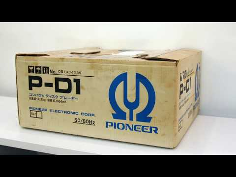 Pioneer P-D1, 40 Years Was Boxed. Open And Play